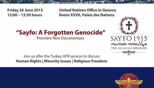 UN Geneva | The Arameans of Turkey: The Disappearance of a People