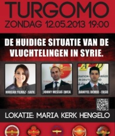 Lecture on the current situation of Syria (12 May 2013)