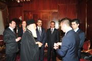 WCA & Member Federations meet with Greek (Rum) Orthodox Patriarch in Istanbul, Turkey (30 January 2013)