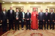 WCA & Member Federations meet with Syriac Orthodox Bishop Mor Filiksinus Yusuf Cetin & Board of Diocese in Istanbul, Turkey (30 January 2013)